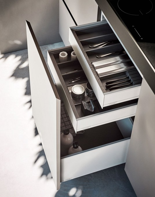 Veneta Cucine Accessori Cassetti.Sistemi Di Contenimento Cucina Cesar